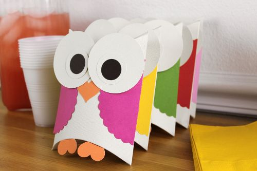 owl birthday decor | Fuse Creativity System Project Guide: Fun Party Themes, Ideas for ...