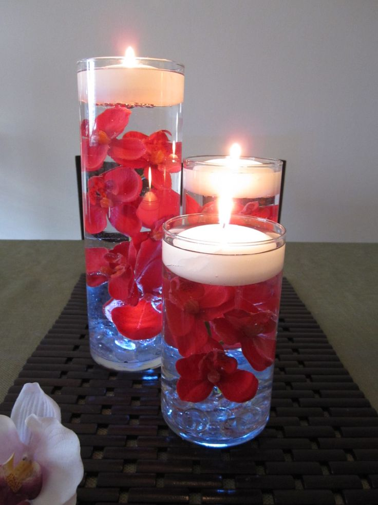 Tealight Candles Water
