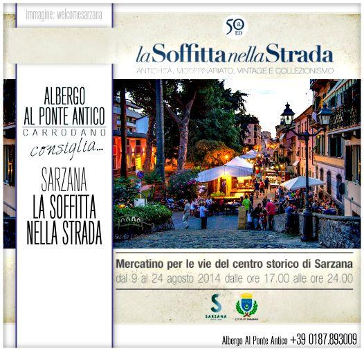 Albergo Al Ponte Antico Consiglia - Sarzana - La Soffitta nella Strada - La Spezia.png