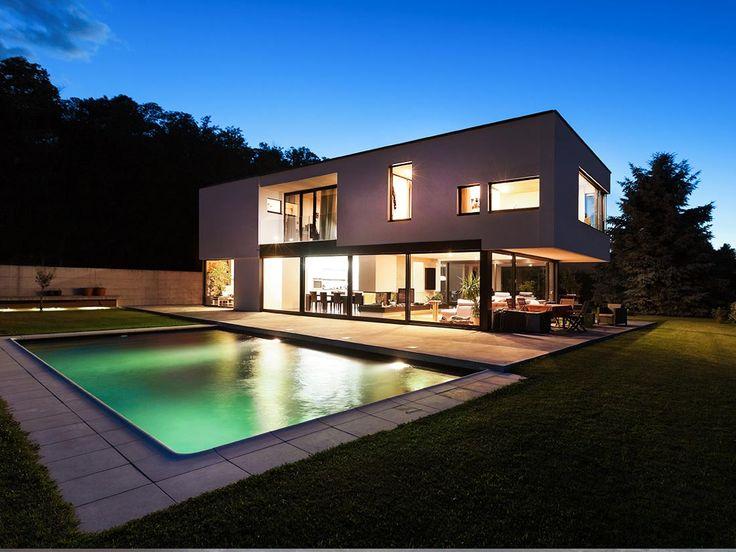 Moderne luxushäuser mit pool  72 besten Pool Bilder auf Pinterest | Moderne häuser, Architektur ...