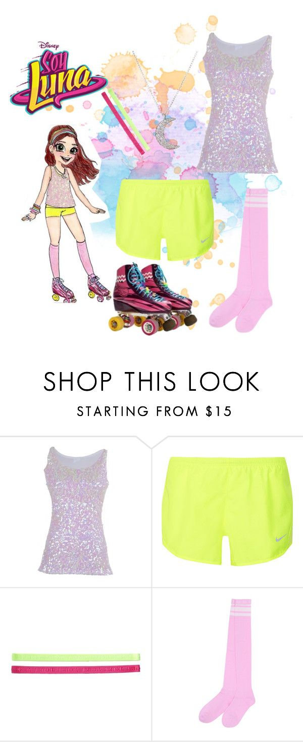 """soy luna"" by maria-look on Polyvore featuring NIKE and Finn"