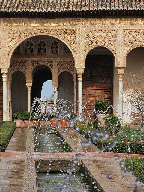The Alhambra, Granada, Andalusia, Spain by rosinberg, via Flickr