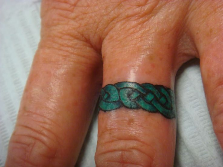 Good Celtic Ring Tattoo Designs With Mens Wedding Tattoos