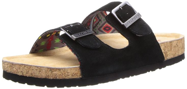 Skechers Women's Memory Foam Double Strap Sandal -- Additional details at the pin image, click it  : Wedge sandals