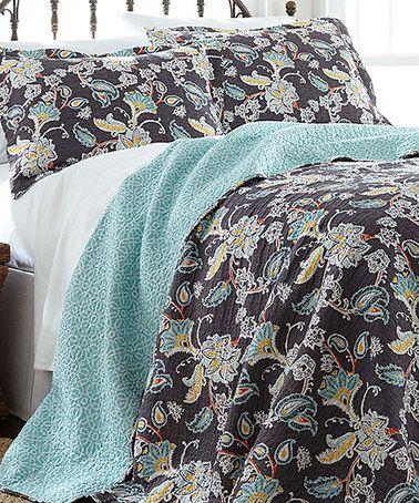 Look What I Found On Zulily Belinda Reversible Quilt Set Zulilyfinds Bedroom Pinterest