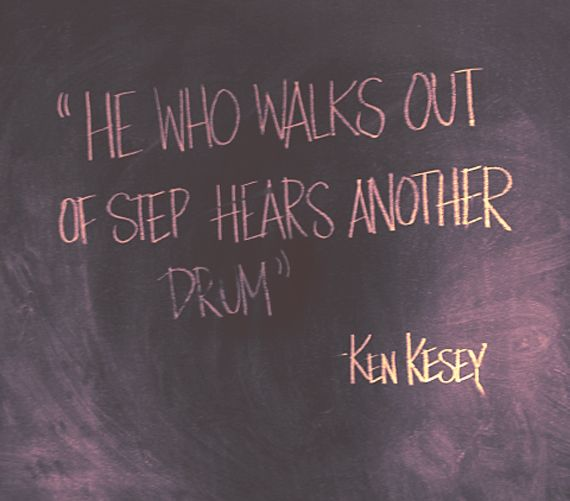 Ken Kesey #Quote #creative