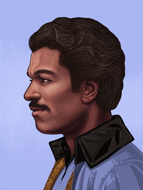 Star Wars - Lando Calrissian by Mike Mitchell *