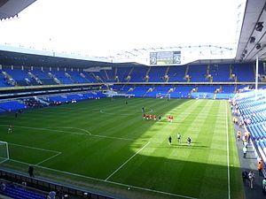 Tottenham Hotspur - White Hart Lane    Source - http://pinterest.com/justinlclarke/