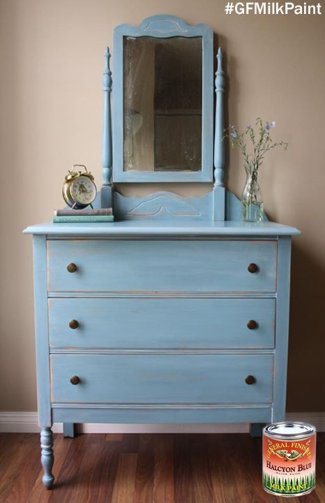 halcyon blue milk paint you can find your favorite gf products. Black Bedroom Furniture Sets. Home Design Ideas