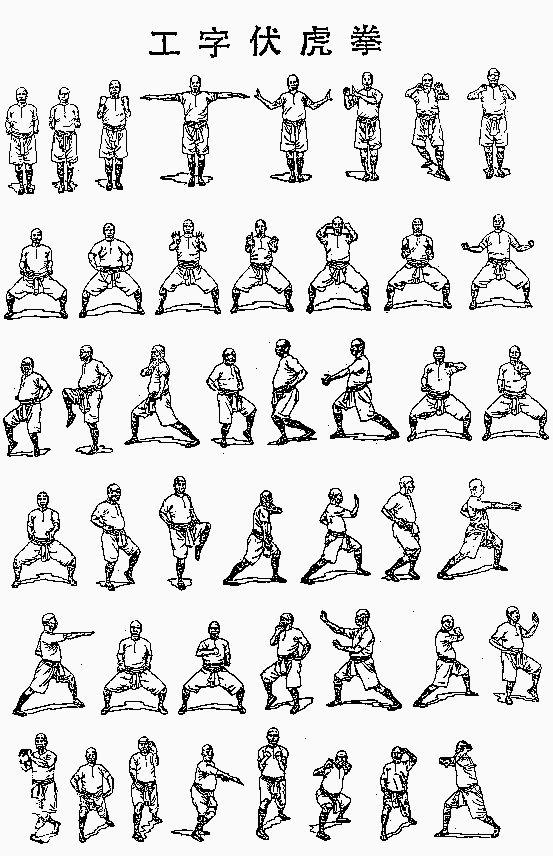 Kung Fu   Martia...Kung Fu Stance Names