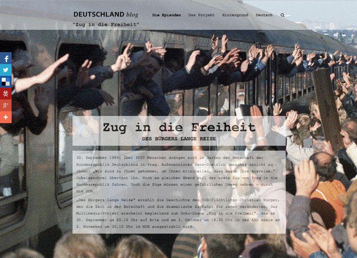 Zug in die Freiheit (Digitales Storytelling 2014)