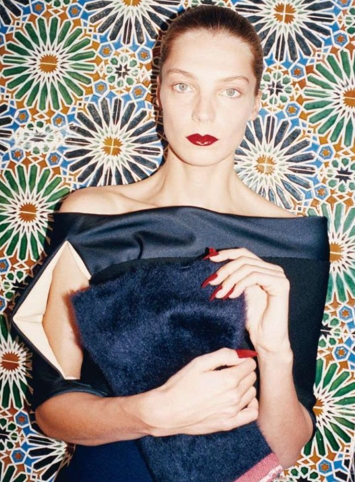 Celine Fall 2013 Campaign - Daria Werbowy by Juergen Teller