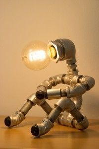 PIPE STORY - Industrial style Pipe Lamp