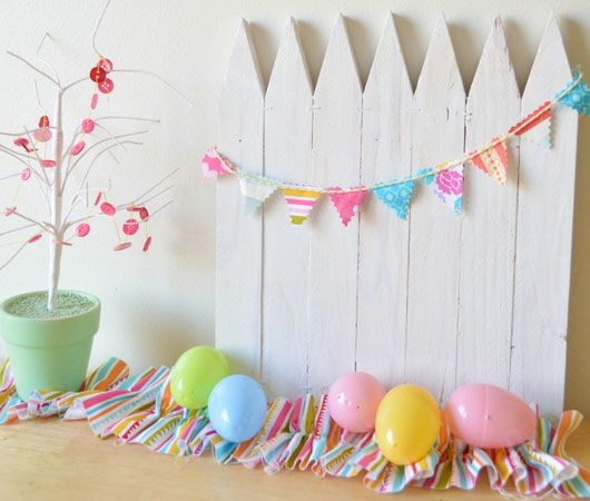 Click Pic For 25 Diy Easter Decorations For The Home Mini White Picket Fence