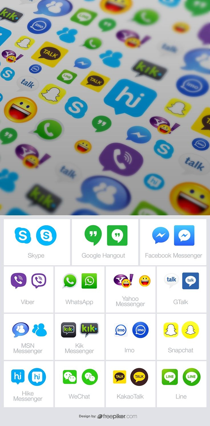 9 best icons images on pinterest free icon logo psd and icons messenger chatting apps vector icons collection buycottarizona