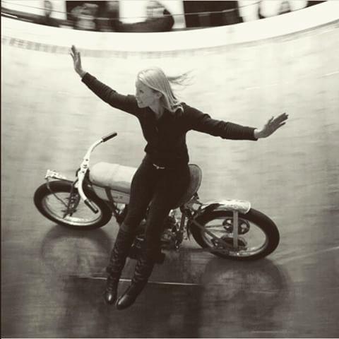 R I D E R S G I R L ®⚡vol.1    #free #bobber #caferacer #scrambler #ride #cool #girl #loop #death #circus #fast #vintage #style #biker_life_