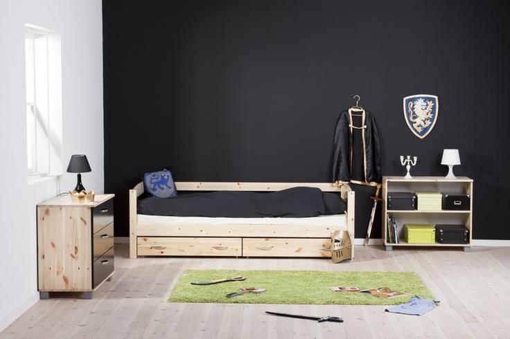 Bedbank - Thuka Trendy | Doorbouwbedden.nl  http://www.doorbouwbedden.nl/Product/bedden/lage_bedden/bedbank.html#