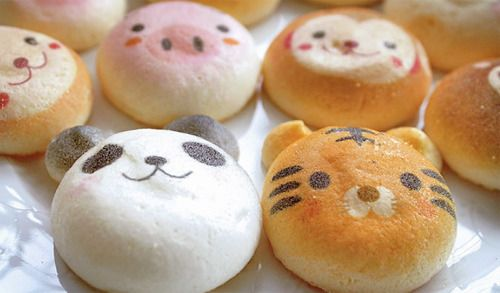Cute animal face pastries (facetries)