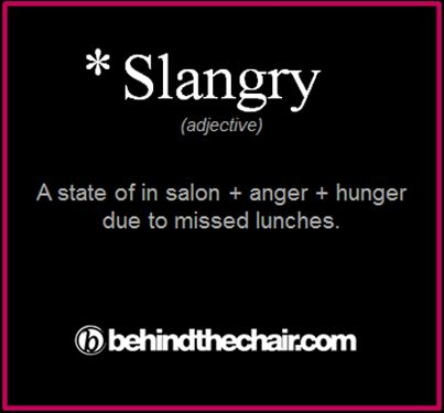 Um... for sure.. it strikes the best of us haha...lunch doesn't exist in the world of stylists