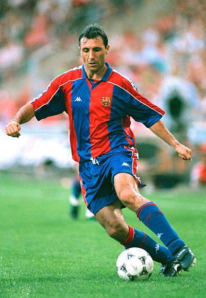 c12e7502d68 6th August 1994 Pre Season Friendly Hristo Stoichkov Barcelona who won 83  Bulgaria international caps 19871989