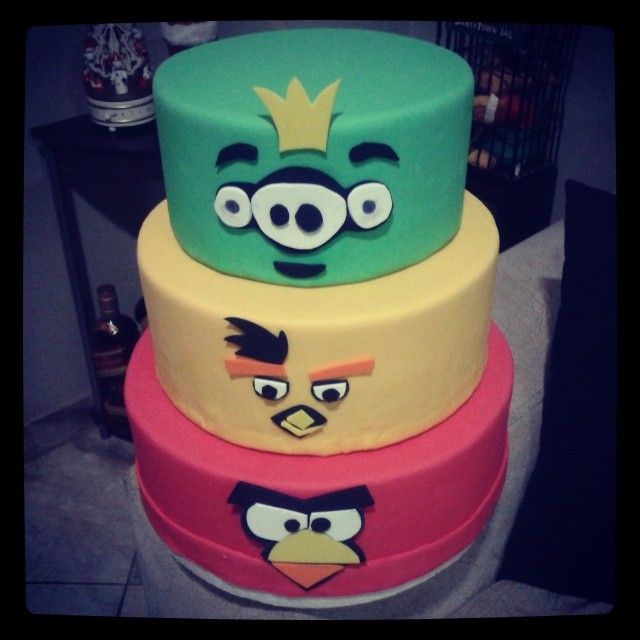 #cake #angrybirds