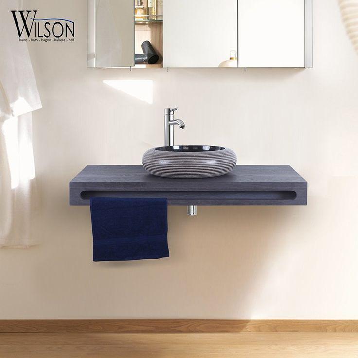 10 best Plans suspendus Salle de bains - Wilson images on Pinterest - comment fixer un meuble au mur