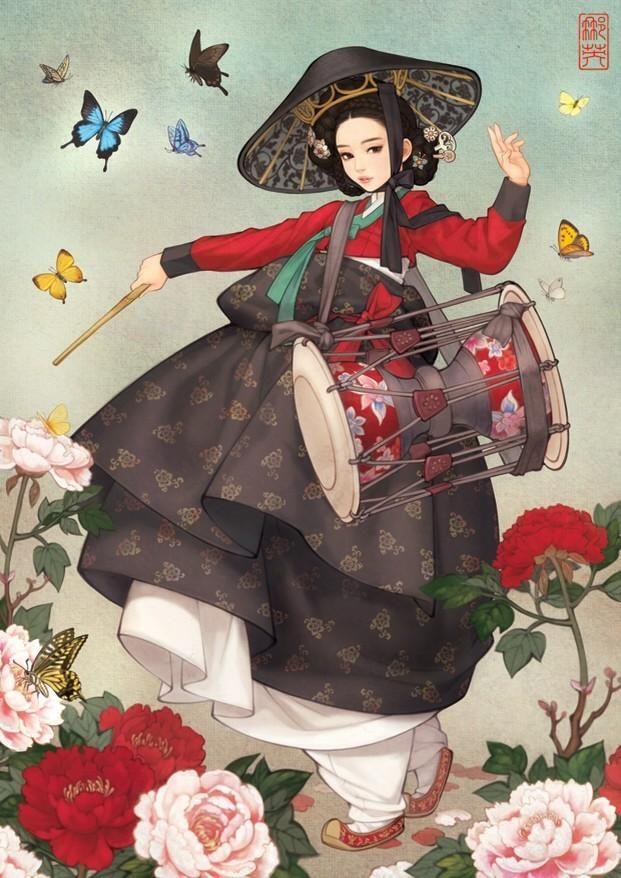 Korean illustrator Na Young Wu