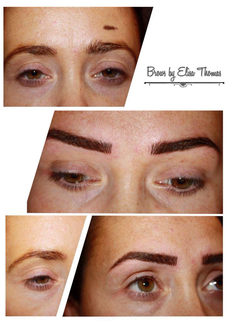 #brows #semipermanent #hairstroke https://www.facebook.com/Semi-Permanent-Cosmetics-by-Elisa-Thomas-942498729173499/