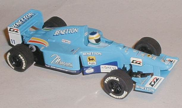 Scalextric car C2266 Benetton Renault B193