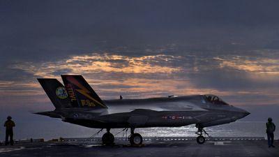 Lockheed Martin F-35 Lightning II wallpaper