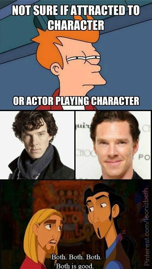 @Julia Rose pretty sure how we feel about Sherlock / Benedict Cumberbatch