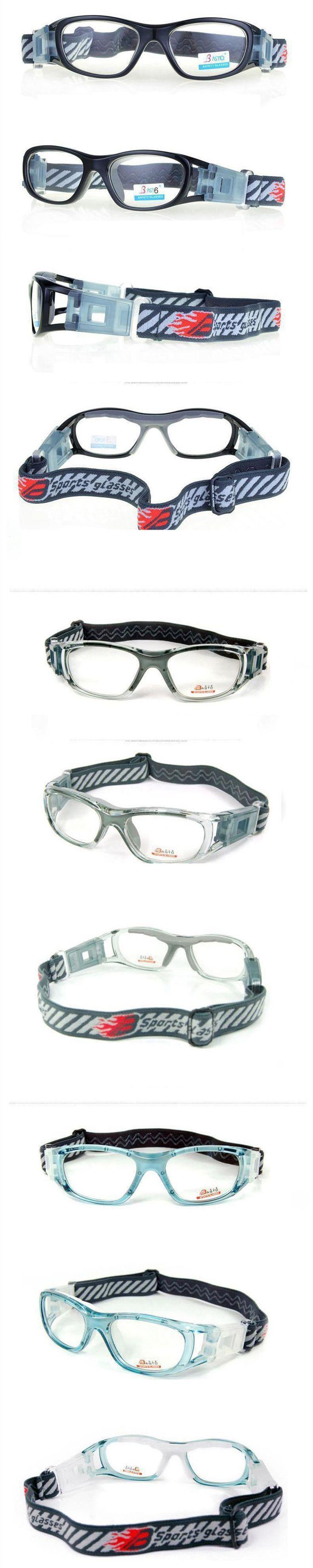 サッカーブランド正規品小さいフレームバスケスポーツメガネ