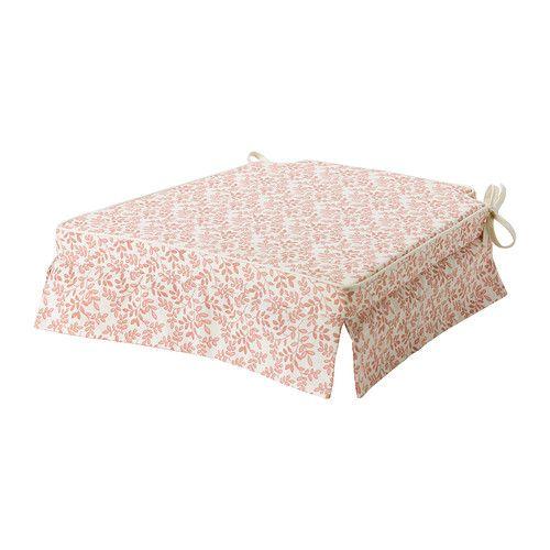 ELSEBET Cojín para silla - rosa, 43x42x4.0 cm - IKEA