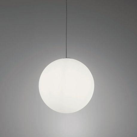 GLOBO 50 SUSPENSION - Lampe Boule à Suspendre Diamètre 50 cm Usage Intérieur ou Extérieur