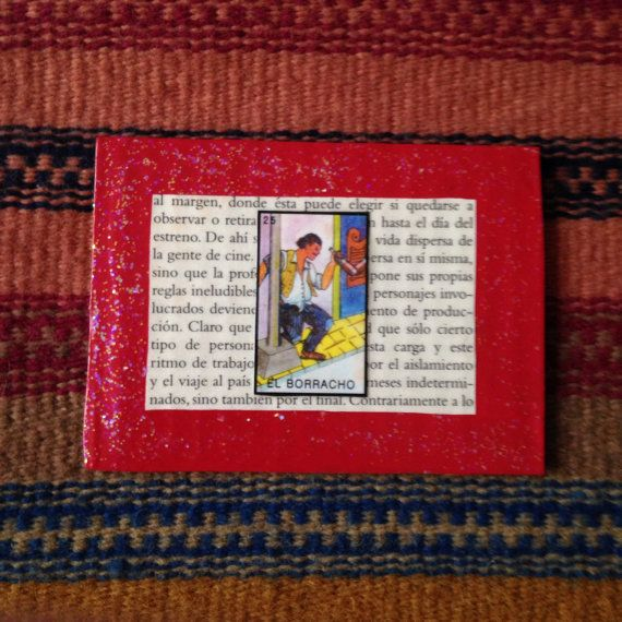 El Borracho Lotería Collage Card by PinMeDown on Etsy