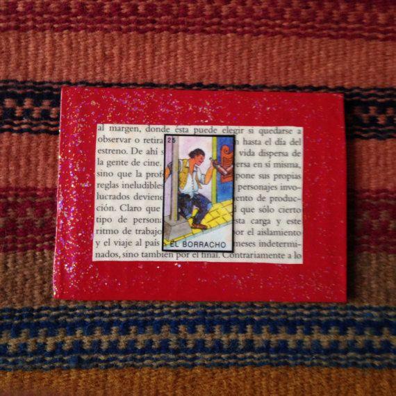 El Borracho Lotería Collage Card by PinMeDown on Etsy