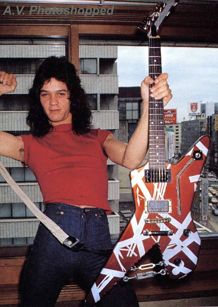 Edward Van Halen Guitar amps effect collection tone guitar rig 1978 1979 1980 1981 1982