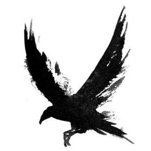Water Color crow tattoo idea The Creatures of the Brush