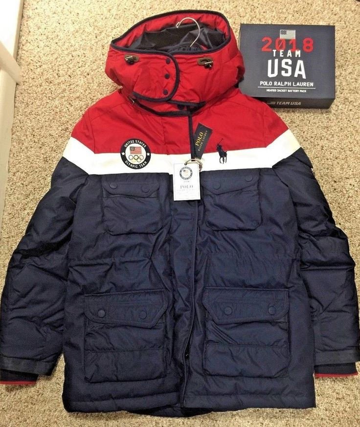 Ralph Lauren 2018 Team USA Winter Olympic Opening Ceremony Limited HEATED Jacket #PoloRalphLauren #USA