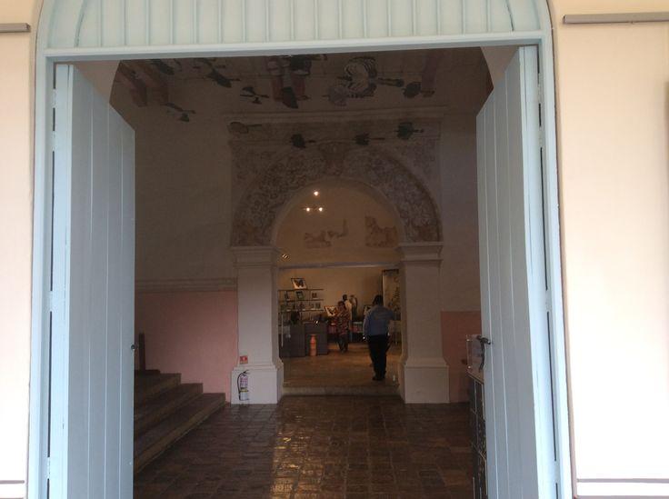 Claustro de San Agustín - sede del instituto de investigación de recursos Biologicos Alexander  Von Humbolt en Villa de Leyva