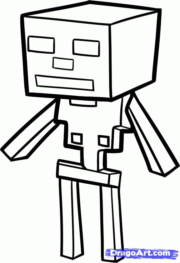 minecraft coloring pages | How to Draw a Minecraft ... Minecraft Spider Coloring Page