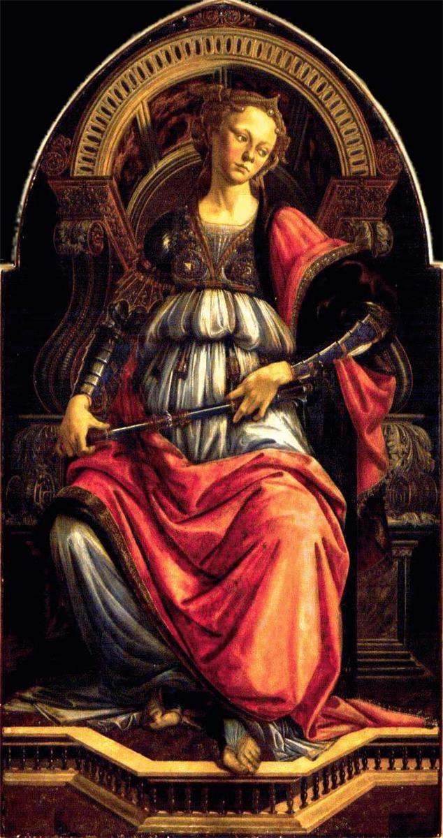 Sandro Botticelli: Fortitude, 1470.
