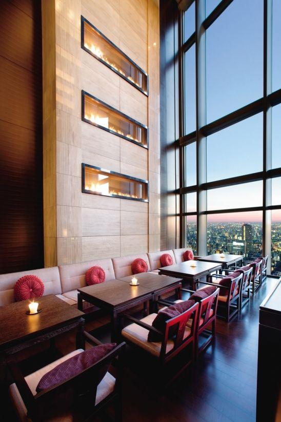 Mandarin oriental tokyo et une foret de beaute 16 Tokyo Hotel Interior Designs