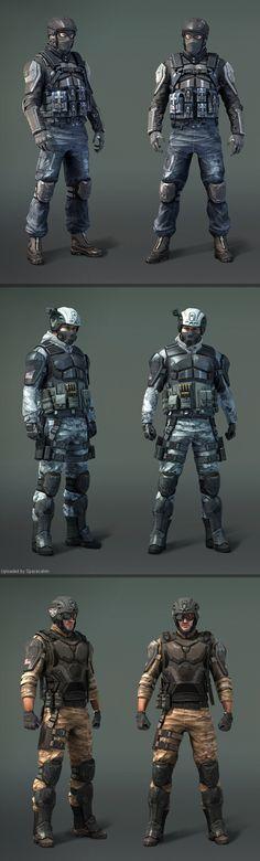 Modern Combat 4 by Baka Neko