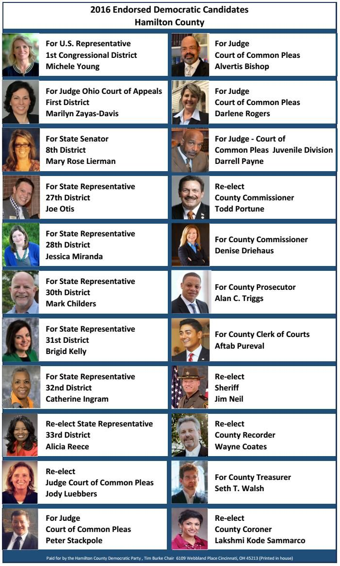 Sample Ballot - Endorsements - Hamilton County Democratic Party