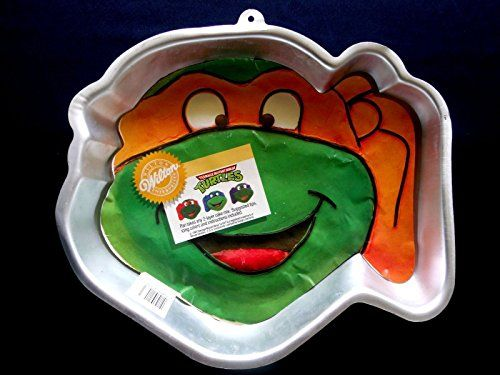 Wilton Teenage Mutant NINJA Turtle Cake Pan  RETIRED -- To view further for this item, visit the image link.