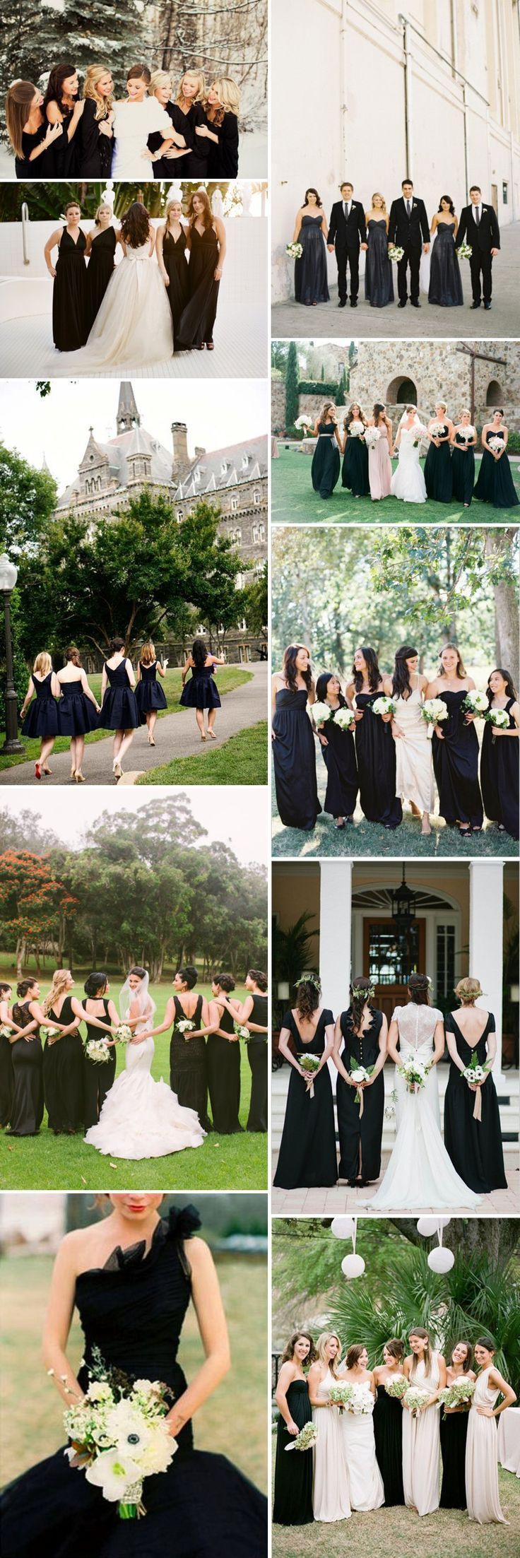 Best 25 black bridesmaid dresses ideas on pinterest black best 25 black bridesmaid dresses ideas on pinterest black bridesmaid long long black bridesmaid dresses and black bridesmaids ombrellifo Image collections
