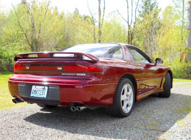 18 best Mitsubishi 3000GT VR4 images by Douglas Breithaupt on ...