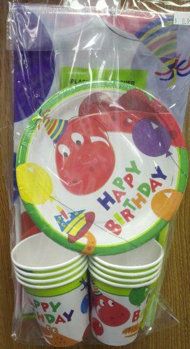 Dino Fun Party Tableware Pack for 8 Party Bags 2 Go http://www.amazon.co.uk/dp/B007R69NBC/ref=cm_sw_r_pi_dp_92F6ub10DH145