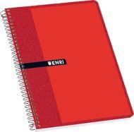 CUADERNOS ENRI TAPA BLANDA. Cuadernos escolares con excelente relación calidad-precio en colores surtidos. Cuaderno de 80 hojas con espiral simple. Formato Folio ( 215 x 310 mm. ). Pautado doble línea 3c/m. #Cuaderno #Libreta #Enri